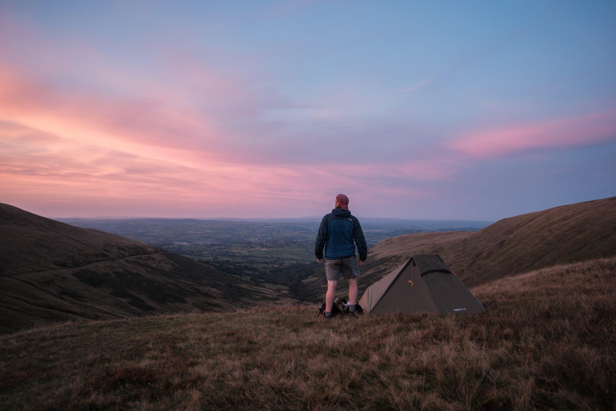 Wild Camping Pen Y Fan Brecon Beacons Wales - Ben Holbrook DriftwoodJournals.com