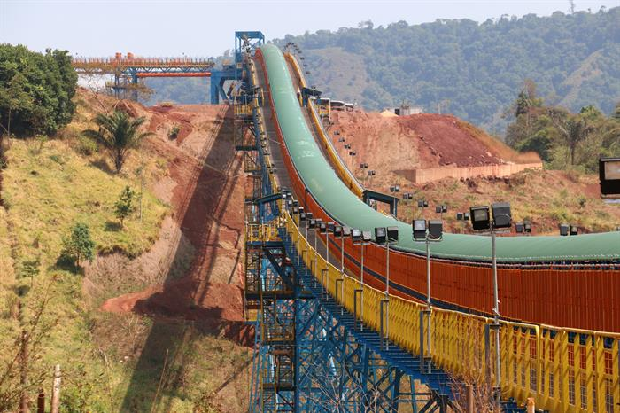 Long Distance Belt Conveyor (TCLD) system at Vale's S11D Iron Ore Mine