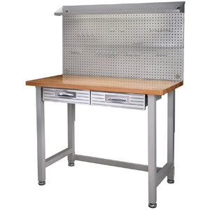 Seville Classics Stainless Steel Workbench