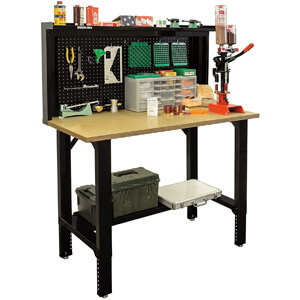 Stack-On SORB-48 Adjustable Height Pro Reloading Bench