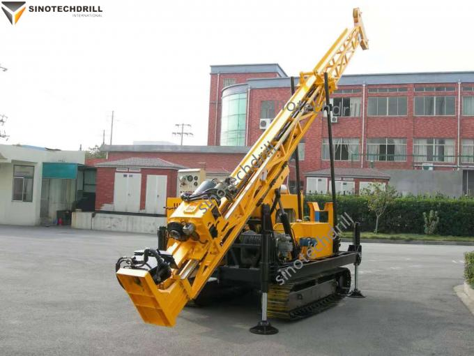 Hydraulic Crawler Surface Exploration Core Drill Rig 400m for Mineral Core Drilling
