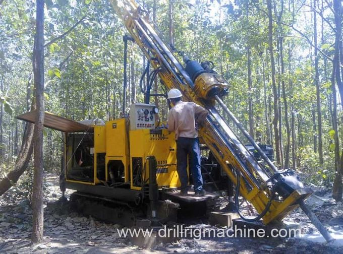 Hydraulic Diamond Crawler Core Drilling Rig for Geological Exploration