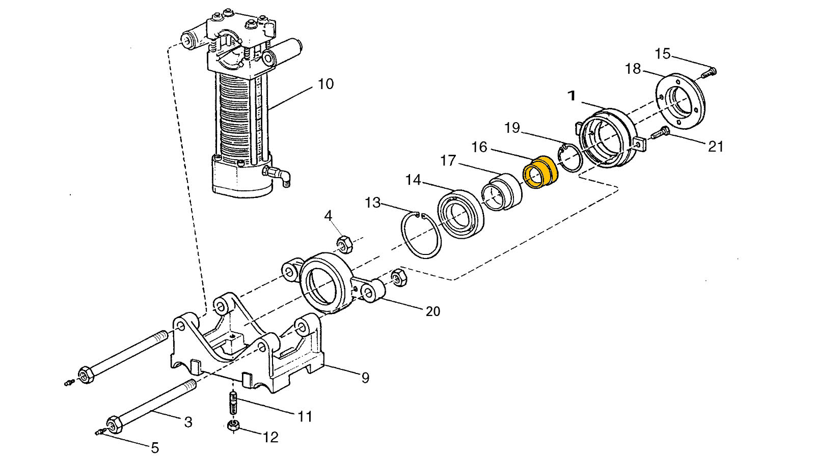 Guide Socket B Drill Rigs Spare Parts