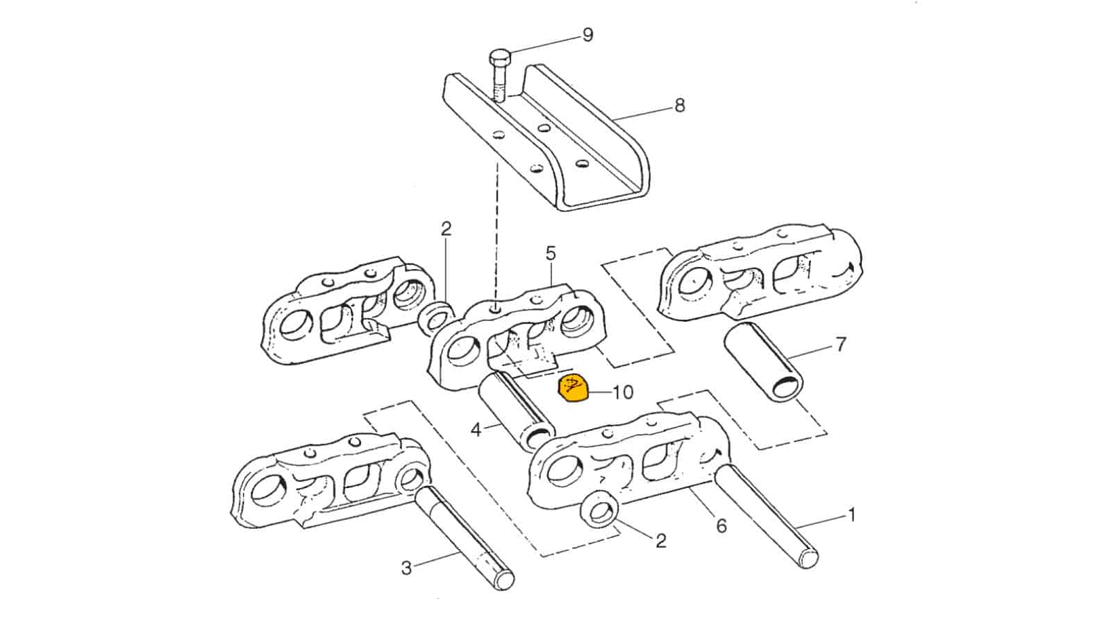Chain Assembly (U6)