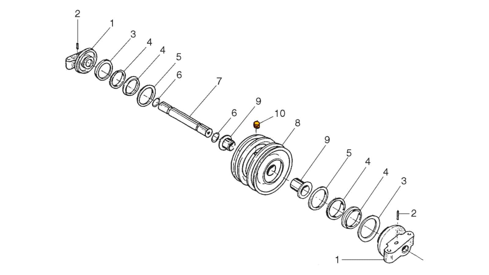 Roller Assembly (U6)