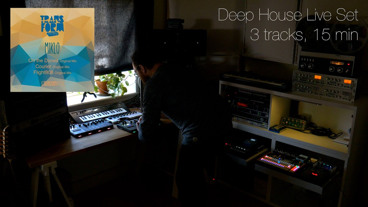 Deep House Live Session – Performing 3 track from solo EP out now on Transform Records