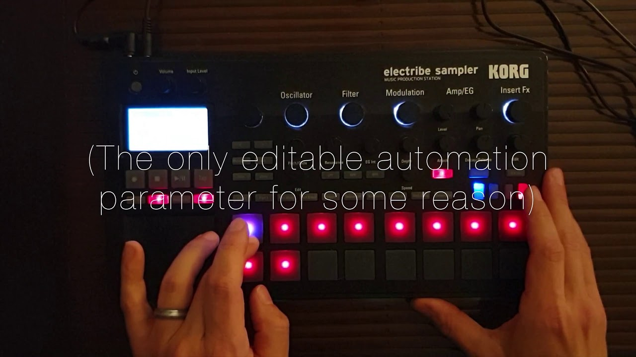 Remixing using only Korg Electribe 2 Sampler (Future Self – It Is What It Is – Miklo Remix)
