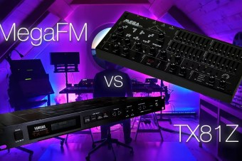 Twisted Electrons MegaFM vs Yamaha TX81Z – Compared Side by Side with Identical Settings