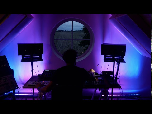 First Jam in New Studio! Deep House with Deluge, Shruthi, Mbase11, Micromonsta, Proteus 2000