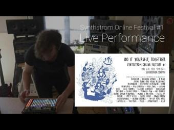 Liquid Light – Deep House Hardware Jam – For Synthstrom Online Festival #1