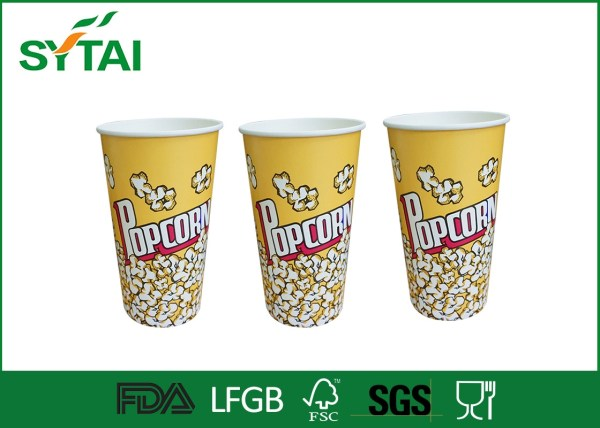 Personalized Recyclable Food Packaging Custom Popcorn