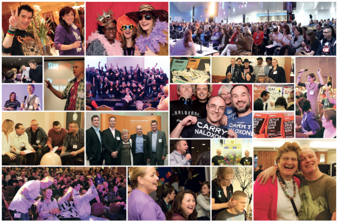 Conference collage