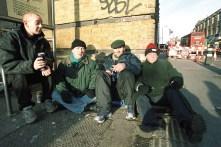 Homeless people London