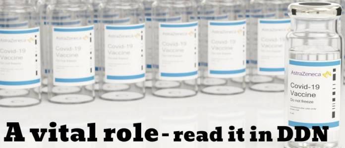 COVID - 10 Vaccine vials