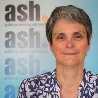 ASH chief executive Deborah Arnott
