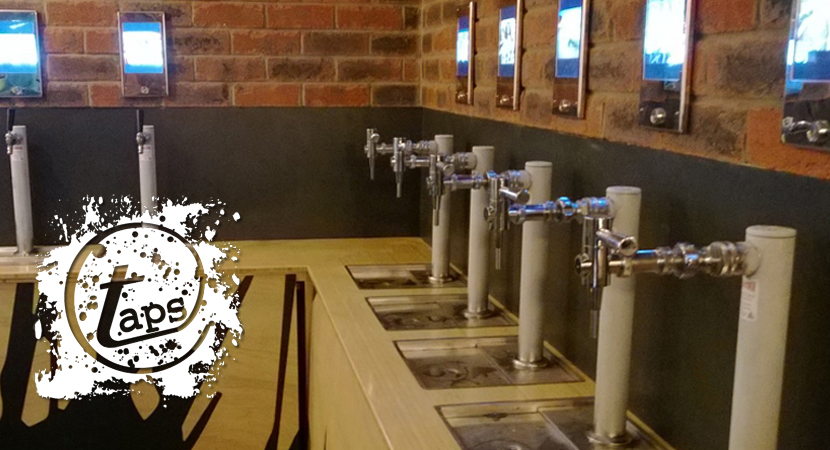 Self Serve beer taps installed at Taps, Mooloolaba, Australia