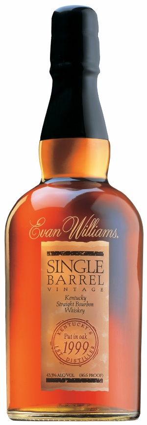 Evan Williams Single Barrel Bourbon 1999 Vintage