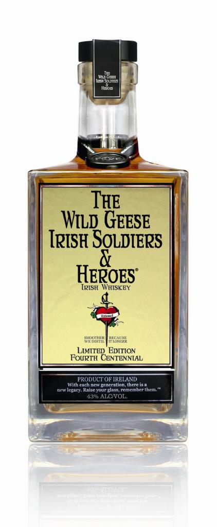 The Wild Geese Irish Soldiers & Heroes Limited Edition Fourth Centennial Irish Whiskey