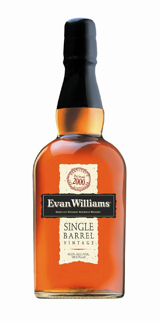 evan williams single barrel bourbon 2000