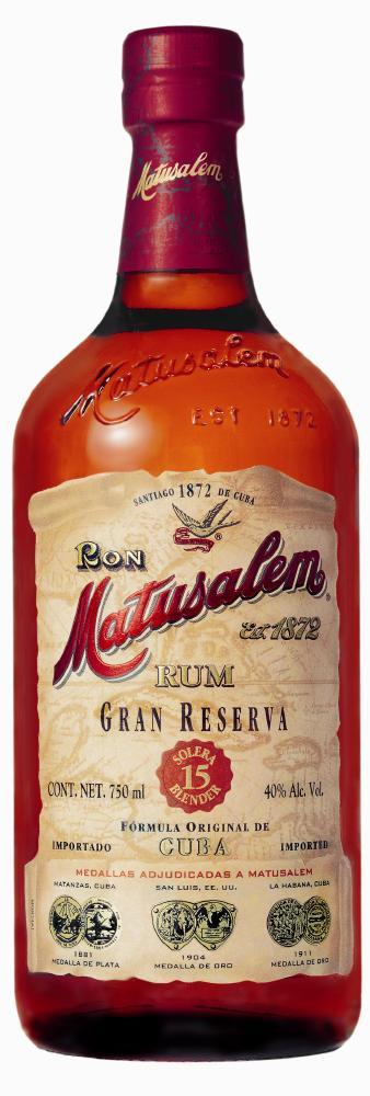 Matusalem Gran Reserva Rum 15 Years Old