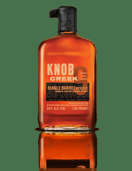 Bottle on Transparent - Knob Creek Single Barrel Reserve