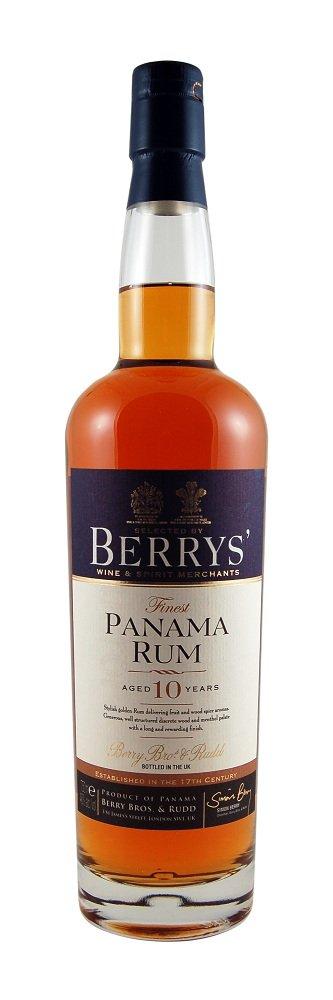 Berrys' Own Panama Rum 10 Years Old