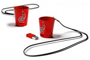 Power Hour Shot Glass USB
