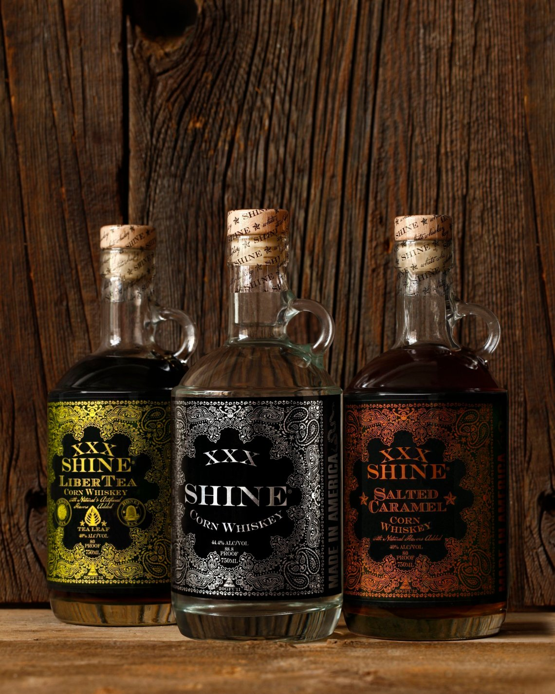 XXX Shine Salted Caramel Corn Whiskey