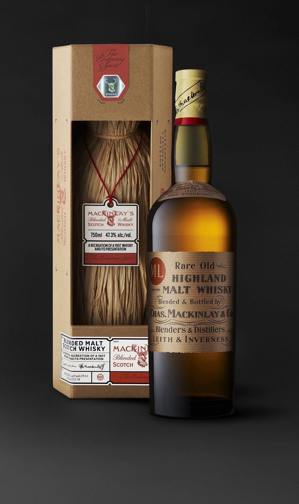 "MacKinlay's Rare Old Highland Malt Whisky ""Shackleton: The Journey"" Second Edition"