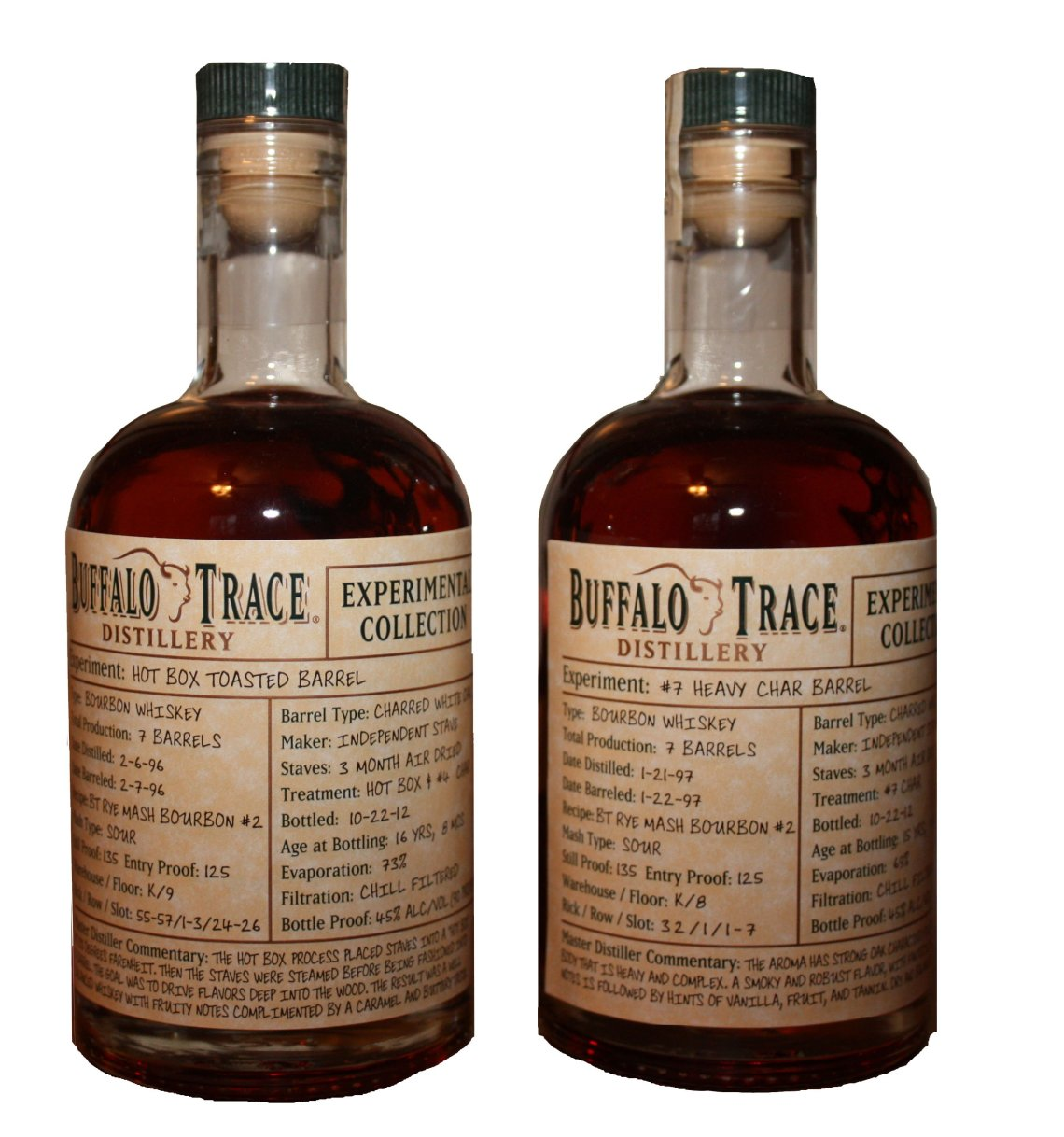 Buffalo Trace Experimental Collection #7 Heavy CharBourbon