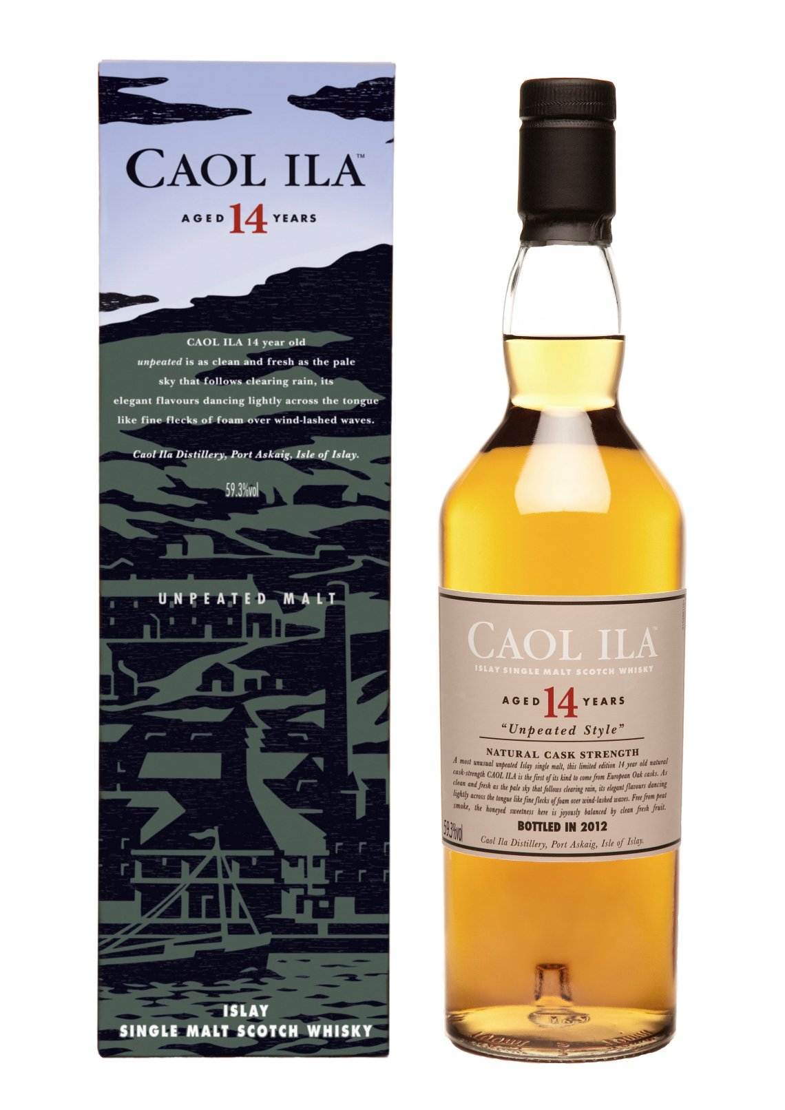 Caol Ila Unpeated 14 Years Old Limited Edition 2012