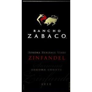 rancho zabaco zinfandel sonoma heritage vines