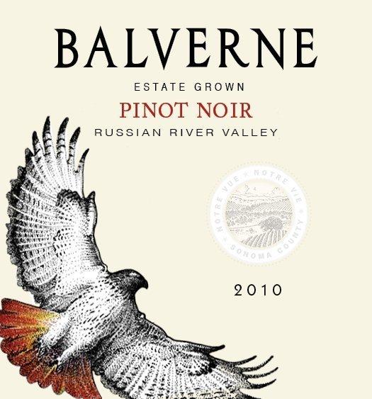 2010 Balverne Pinot Noir Russian River Valley