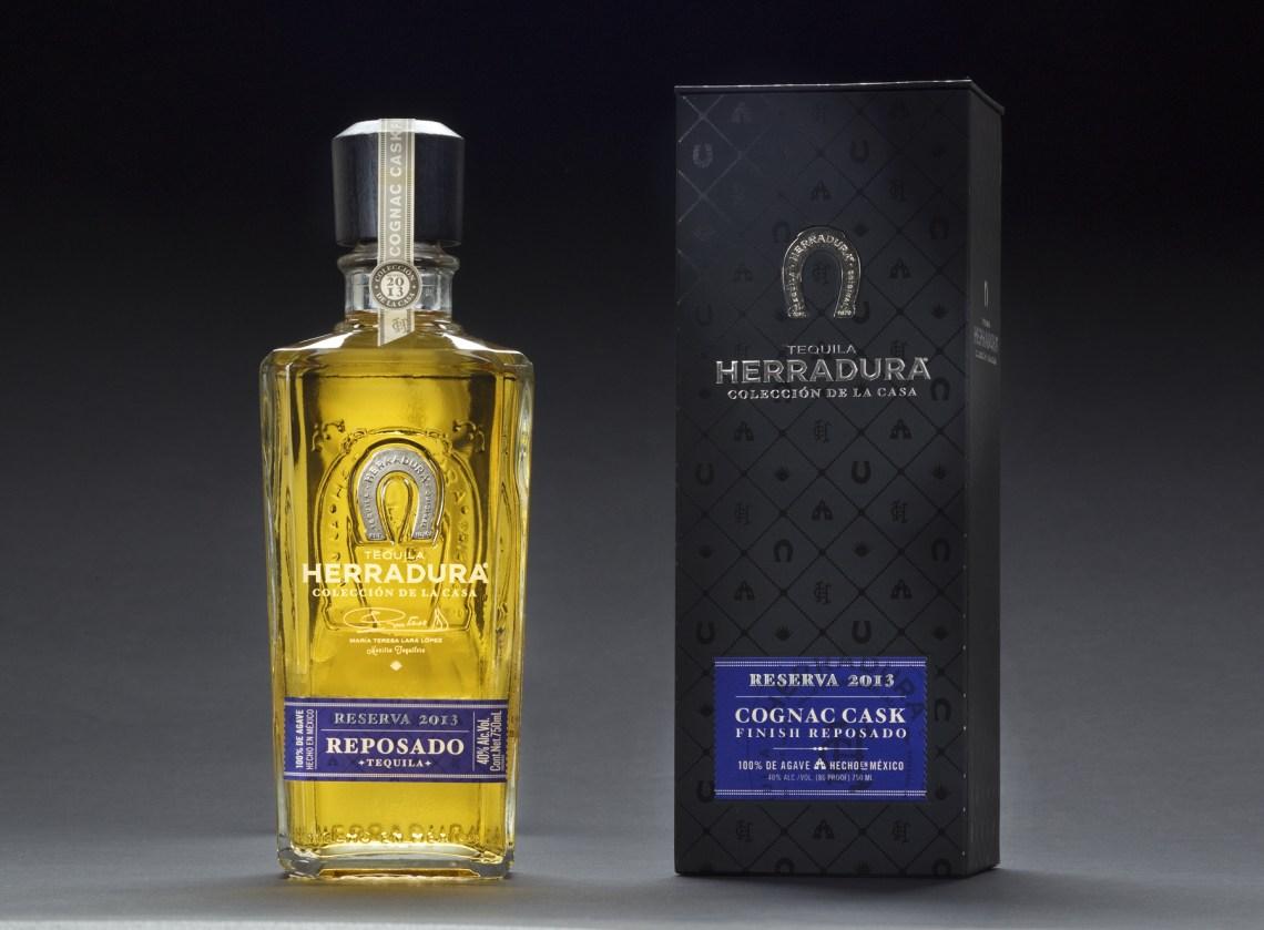 Tequila Herradura Coleccion de la Casa Cognac Cask Finished Reposado, Reserva 2013