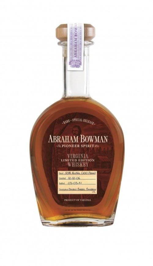 Abraham Bowman Double Barrel Bourbon March 2014