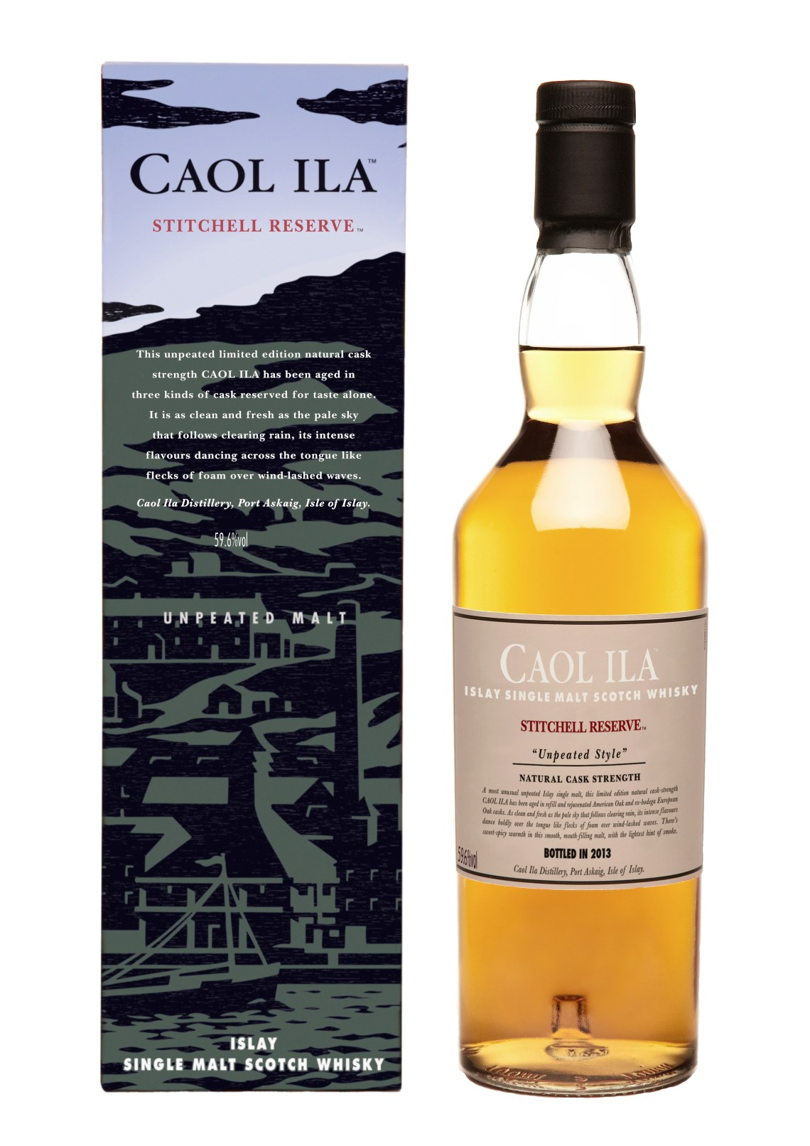 Caol Ila Stitchell Reserve Unpeated Style Limited Edition 2013