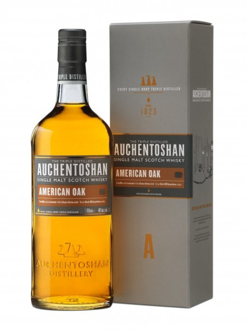 auchentoshan American Oak Bottle + Carton