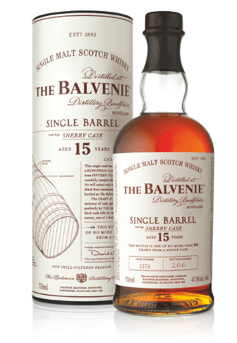 balvenie sherry cask single barrel