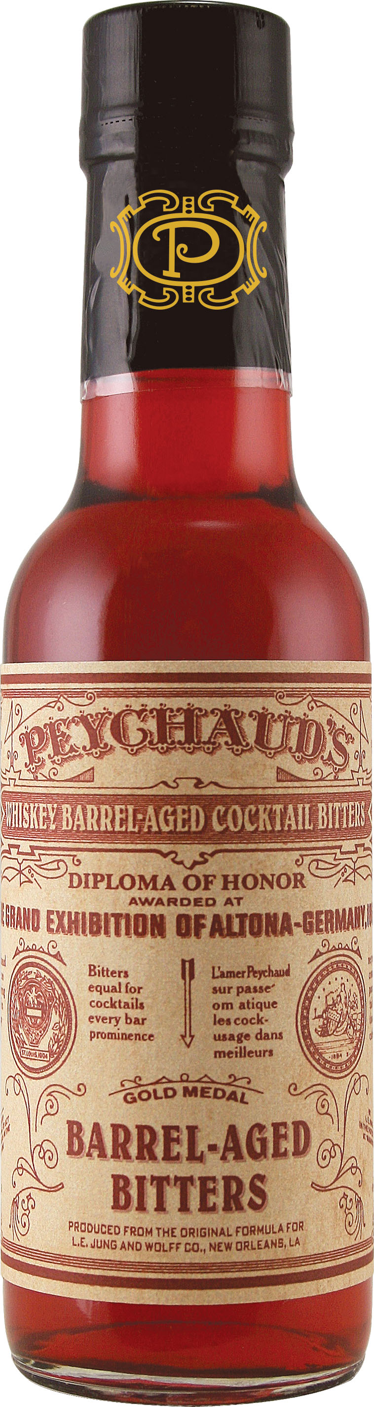 Peychaud's Whiskey Barrel-Aged Cocktail Bitters