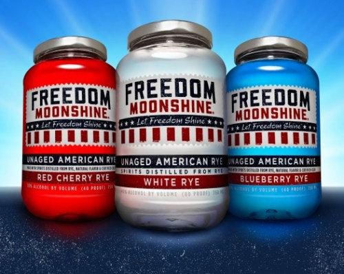 freedom moonshine