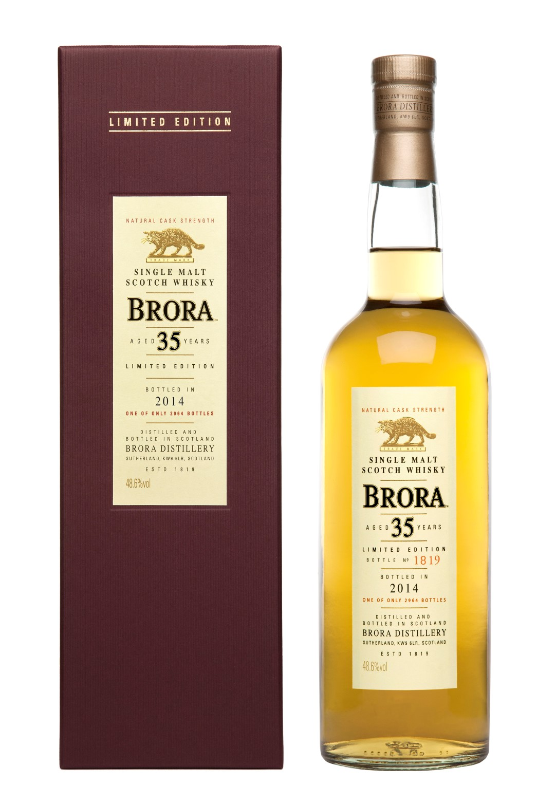 Brora 35 Years Old Limited Edition 2014