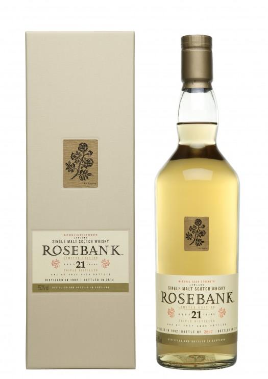 Rosebank 21YO Bottle & Box