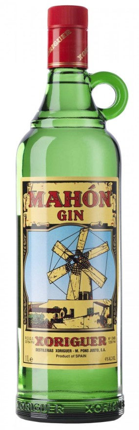 Mahon Gin Bottle USA