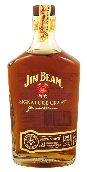 Jim Beam Signature Craft Harvest Bourbon Collection – Brown Rice