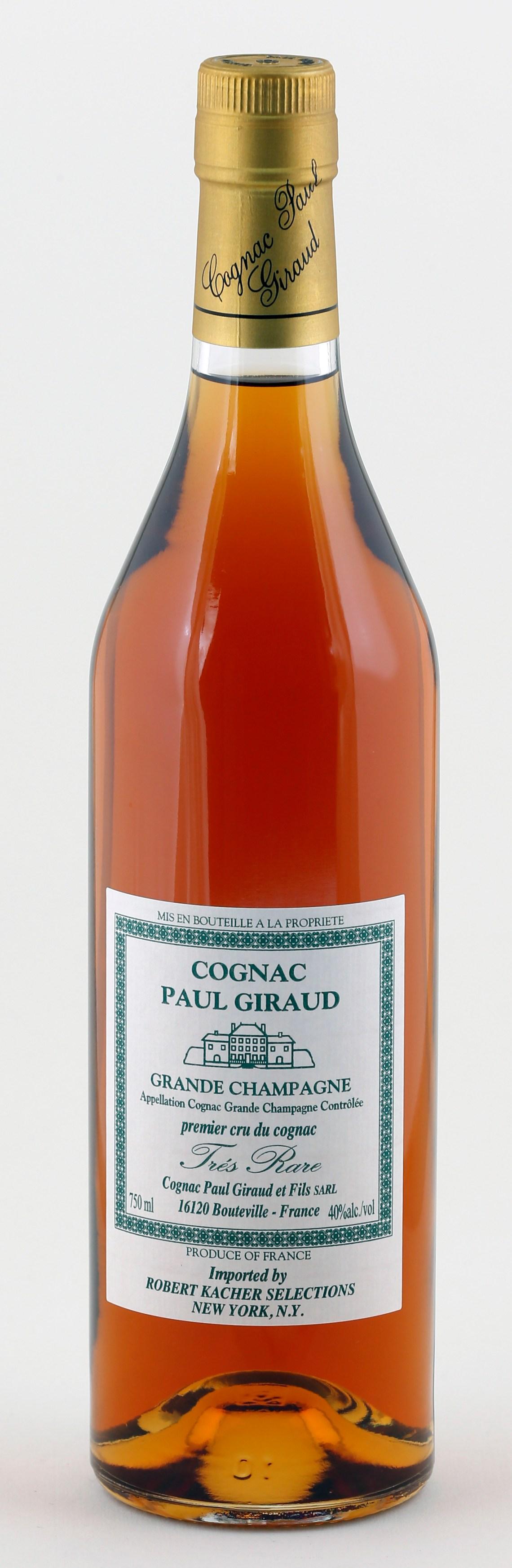 Cognac Paul Giraud Grande Champagne Tres Rare
