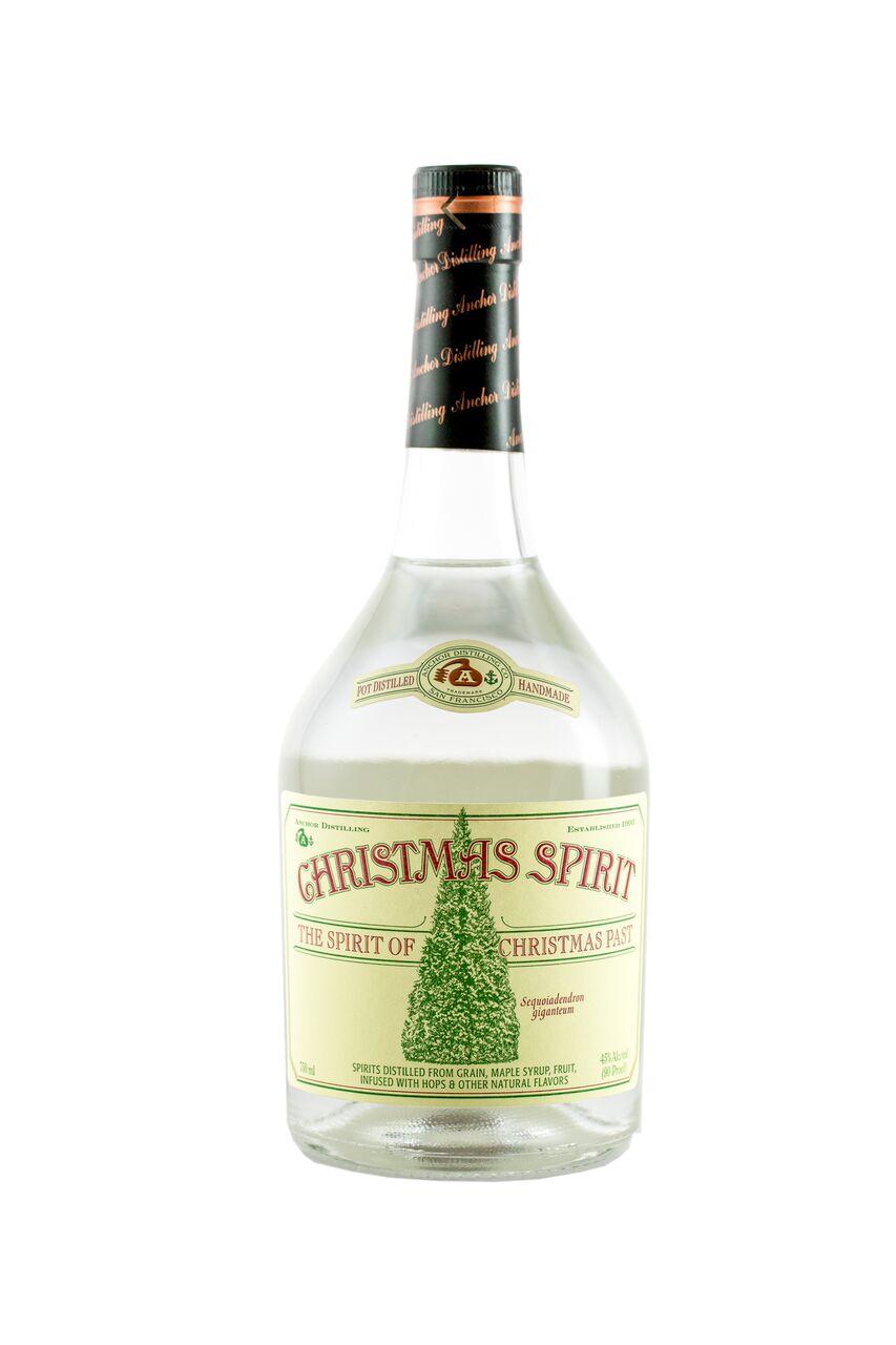 Anchor Distilling Christmas Spirit White Whiskey 2015