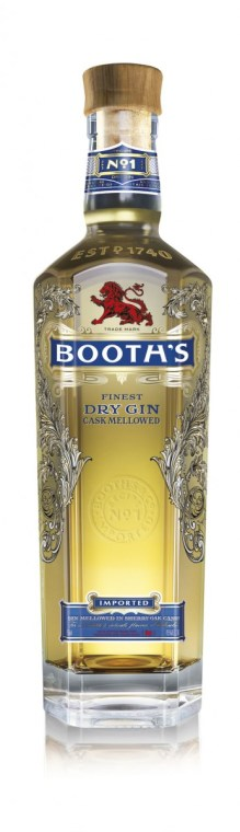 Booth's Finest Dry Gin Cask Mellowed