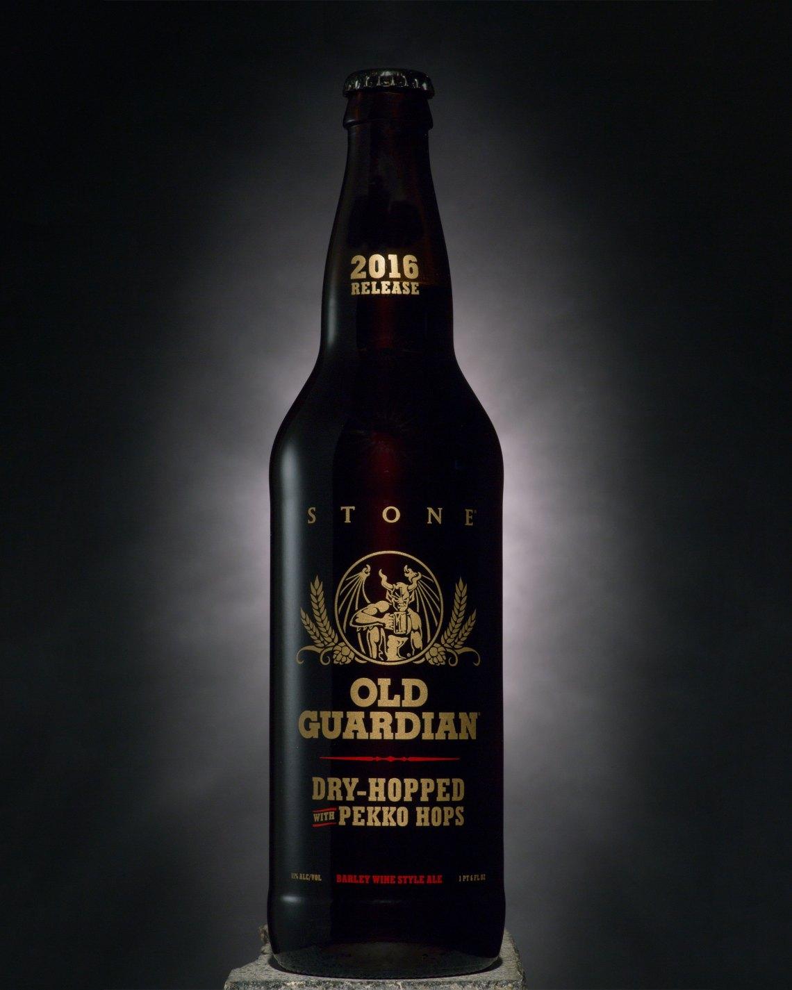 Stone Old Guardian Barley Wine Dry-Hopped with Pekko Hops 2016