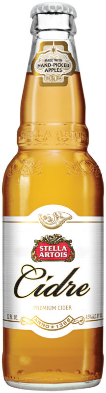 Stella Artois Cidre Bottle