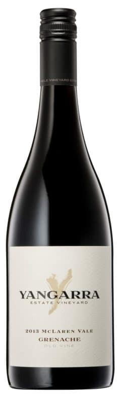 Yangarra Old Vine Grenache 2013 Bottle Shot
